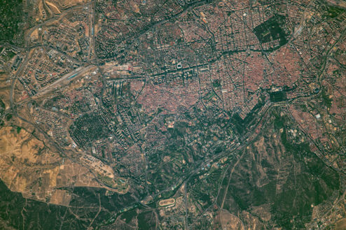 madrid sin palabras: una ecología vibrante